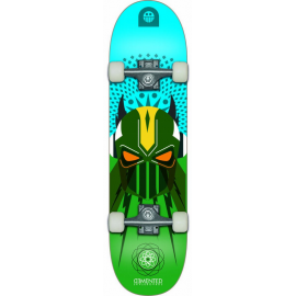 Skateboard Demented 7.9 Super Lucha azul