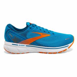 Zapatillas running Brooks Ghost 14 azul/naranja hombre