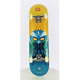 Skateboard Demented 7.9 Super Lucha amarillo