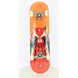 Skateboard Demented 7.9 Super Lucha naranja