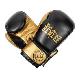 Guantes de boxeo Benlee Carlos negro dorado