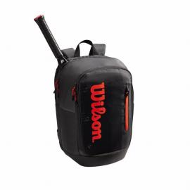 Mochila tenis/padel Wilson Tour Backpack negra/roja