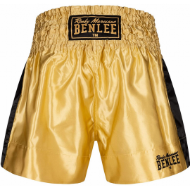 Pantalón thai Benlee Goldy dorado negro hombre