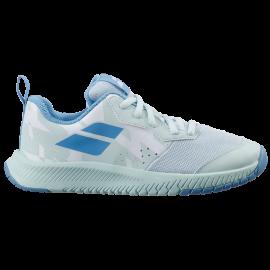 Zapatilla tenis Babolat Pulsion All Court junior blanco/azul