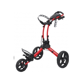 Carro de golf Rovic RV1C rojo / negro