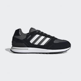 Zapatillas adidas Run 80s negro/blanco/gris hombre