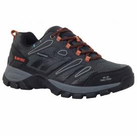 Zapatillas montaña Hi-Tec Muflon Low Wp gris naranja hombre