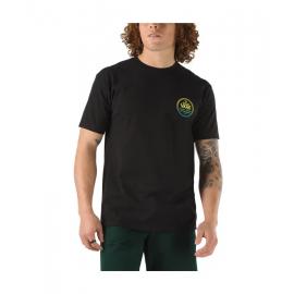 Camiseta Vans Custom Classic SS negro hombre