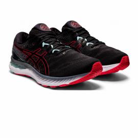 Zapatillas running Asics Gel-Nimbus 23 negro rojo hombre
