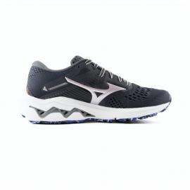 Zapatillas running Mizuno Wave Inspire 17 gris malva mujer