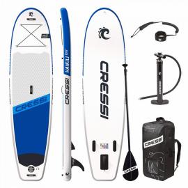 "Tabla Paddle Surf Cressi Isup Haikili 10,6"" blanco azul"