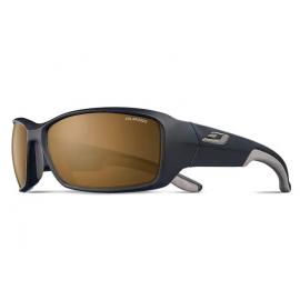 Gafas Julbo Run negro mate gris  polarizada