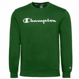 Sudadera Champion Cuello Redondo 214744 verde hombre