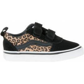 Zapatillas Vans Ward V (cheetah) negro marrón infantil