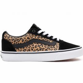 Zapatillas Vans WM Ward (cheetah) negro marrón mujer