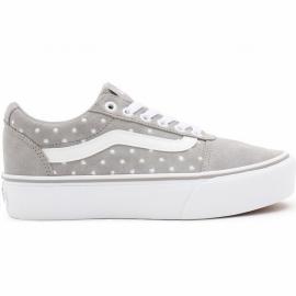 Zapatillas Vans WM Ward Platform (Suede Dots) gris blanco