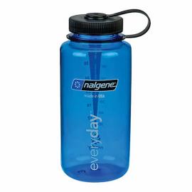 Botella Nalgene 1000ml boca ancha azul
