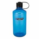 Botella Nalgene 1000ml boca estrecha azul