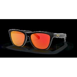 Gafas Oakley Frogskins negro brillo prizm ruby