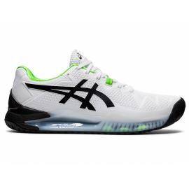 Zapatillas tenis Asics Gel-Resolution 8 blanco verde hombre