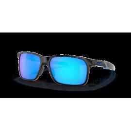 Gafas Oakley Portal X negro brillo lentes prizm sapphire