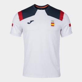 Camiseta Joma Podium COE Tokyo 2020 blanco hombre