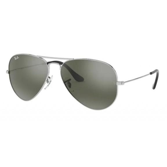 Gafas Ray-Ban Rb3025 W3275 55 Aviator Large silver