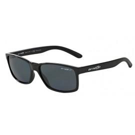 Gafas Arnette Slickster negro lentes gris polarizado