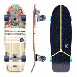 "Skateboard Flying Wheels Izu Hydrangea 30"" Surfskate"