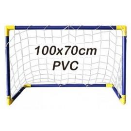 Portería hockey/floorball Multiusos PVC 100x70cm