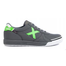 Zapatillas fútbol Munich G-3 Profit 206 gris verde hombre