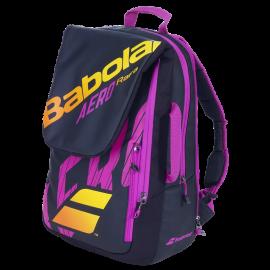 Mochila tenis Babolat Pure Aero Rafa negro nararanja violeta