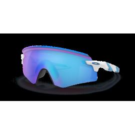 Gafas Oakley Encoder blanco lentes prizm sapphire