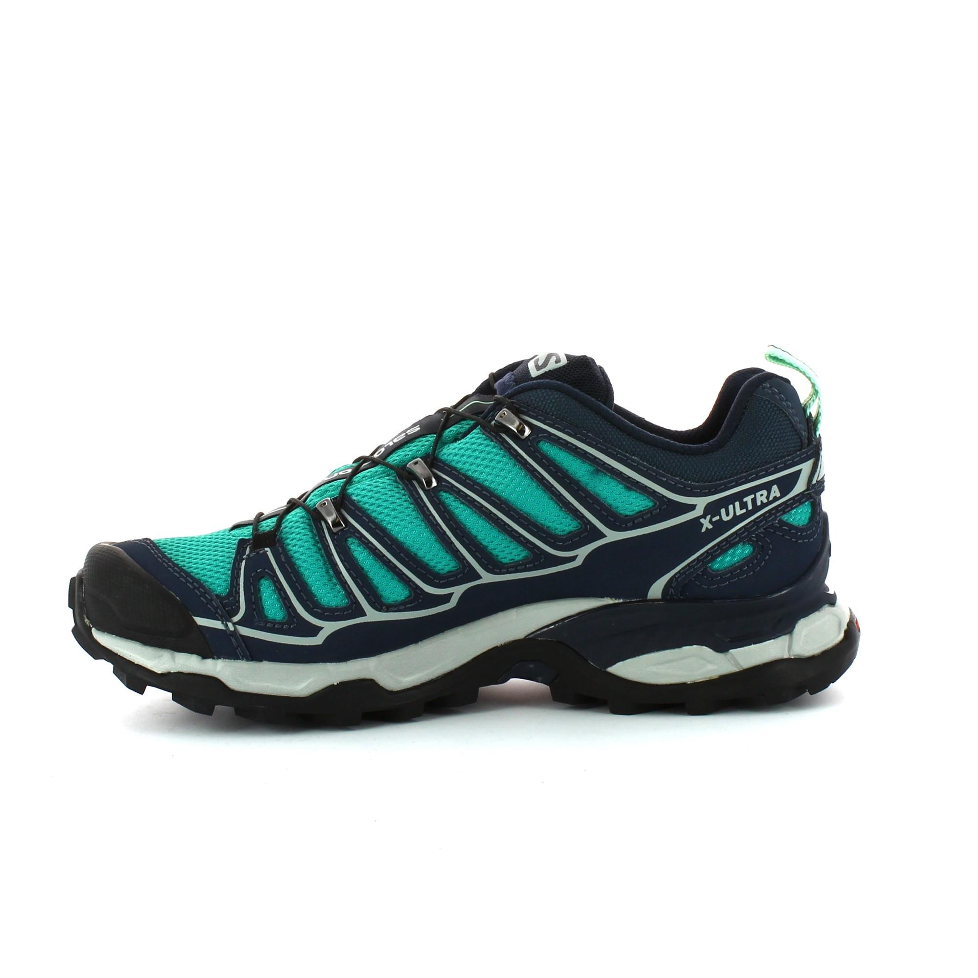b40dd3c63e8ca Zapatillas Trekking Salomon X Ultra 2 Gtx W Verde Mujer - Deportes Moya