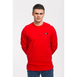 Sudadera Nike Modern Crew Ft Rojo