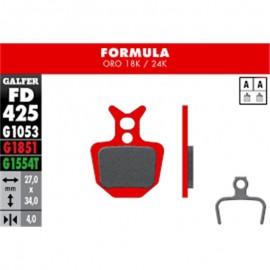 Par pastillas Galfer Formula Oro advance