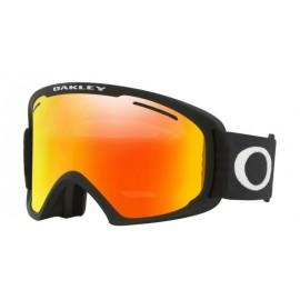 Mascara Oakley Frame 2.0 Xl negro mate fire irid