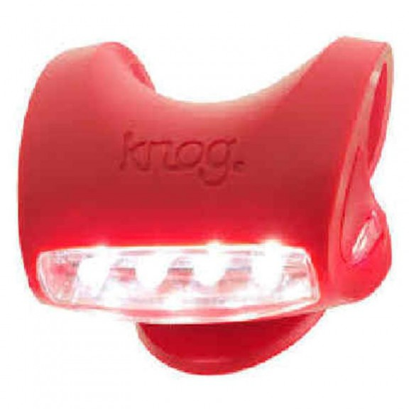 Luces Knog Skink delantera red