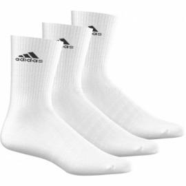 Calcetín Adidas Media caña blanco unisex