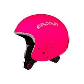Casco Eassun Apache III mate fluor rosa