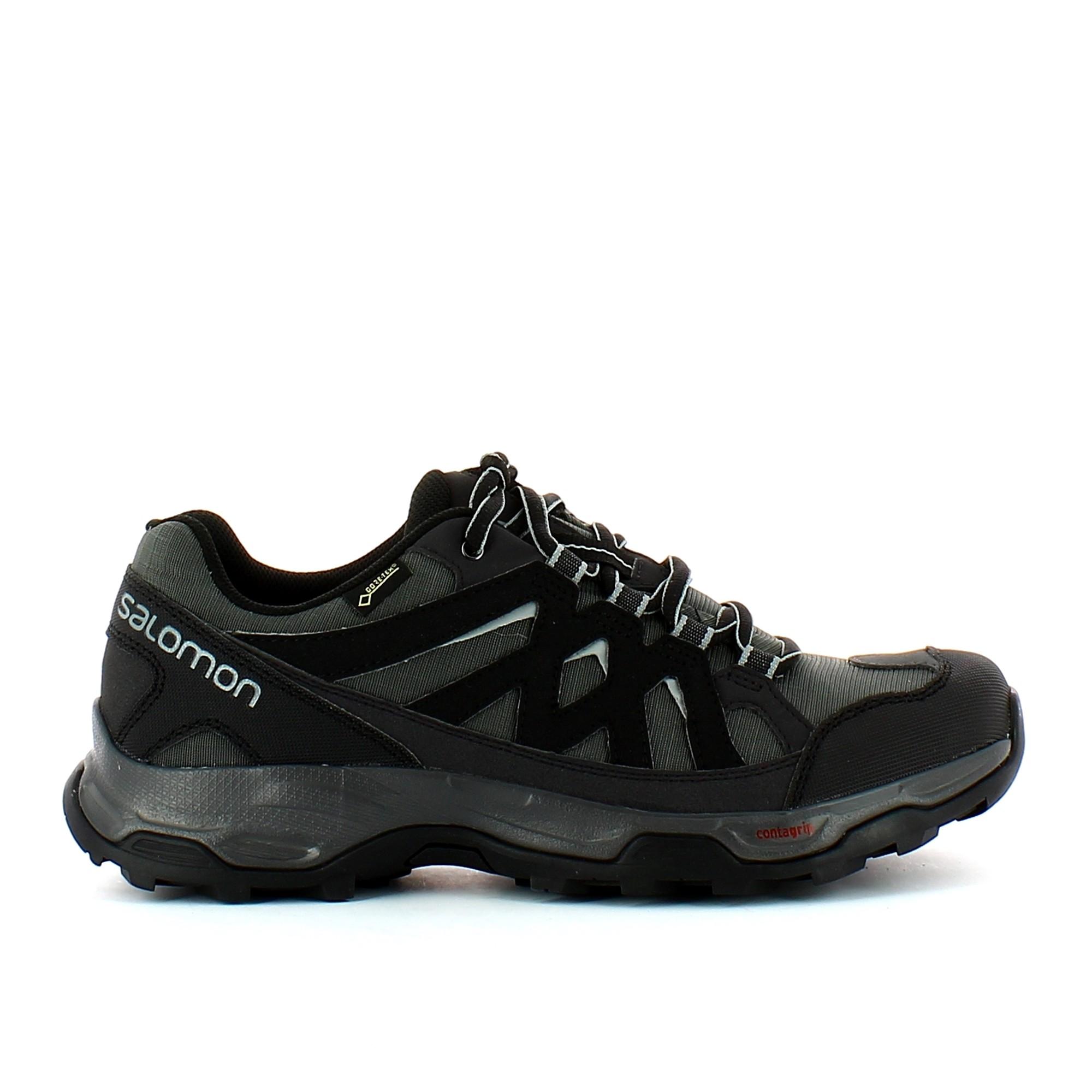 Zapatillas trekking Salomon Effect GTX gris hombre ...