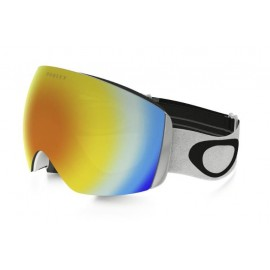 Mascara Oakley Flight Deck Xm matte white fire iridium
