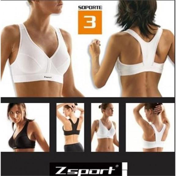 Sujetador Mujer ZSport  B07 Blanco