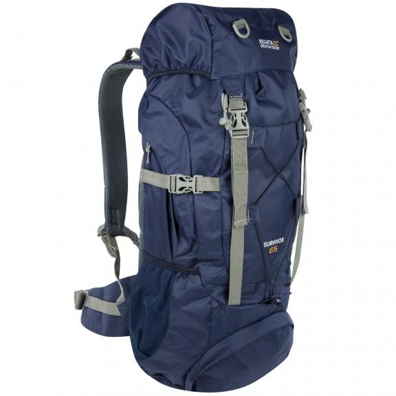 Mochila trekking Regatta Survivor III 65L azul