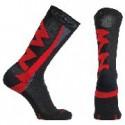 Calcetines altos Northwave Extreme Winter negro-rojo