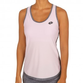 Camiseta tenis/padel Lotto Shela III Tank  mujer blanca