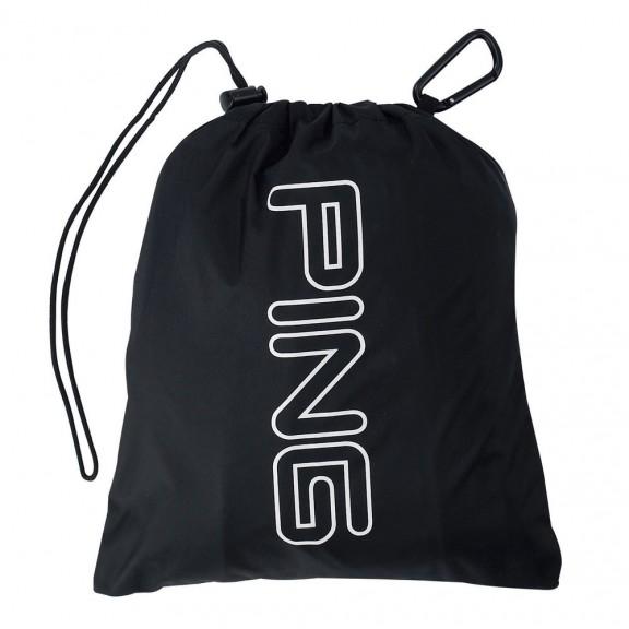 Funda Ping cubre bolsa para lluvia-Rain Cape Black