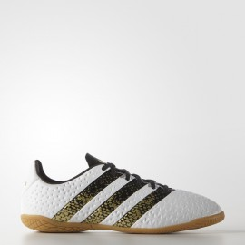 Zapatilla fútbol Adidas Ace 16.4 In J Ftwr blanco Ba8609