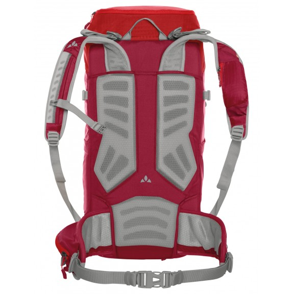 Mochila trekking Vaude Prokyon 28 roja mujer