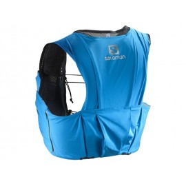 Mochila trailrunning Salomon S-Lab Sense Ultra 8 Set azul
